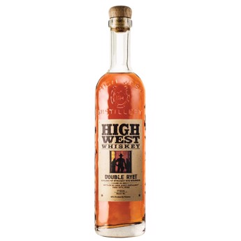 Bourbon Whiskey,  Double Rye, High West